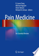 Book cover for Pain Medicine