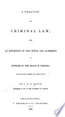 5eeb8f6dc442 Virginia criminal law and procedure - George Mason University Libraries