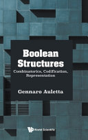 Boolean structures : combinatorics, codification, representation