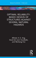 Optimal reliability-based design of structures against several natural hazards