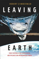 Book cover for Leaving earth.