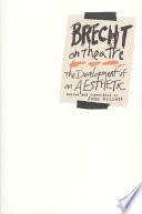 cover of Brecht on Theatre: The Development of an Aesthetic